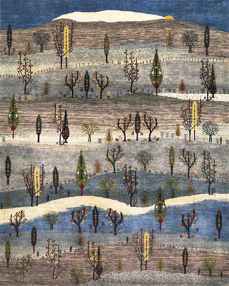 2Landscapes Of My Fatherland 5  Gabbehs Landscapes  245X305Cm Kopie