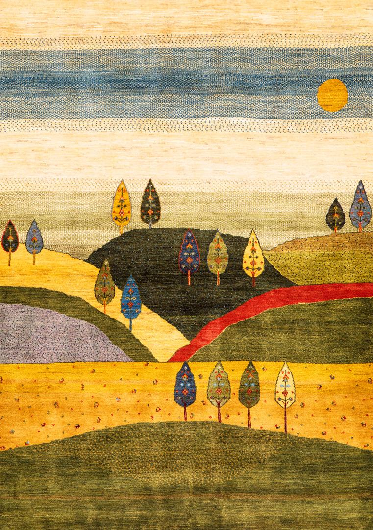 2Naive Landscapes Of My Fatherland 2D  Gabbehs Landscapes 168X238Cm