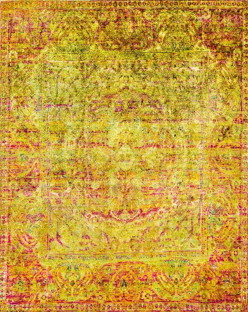 Abrash Hidden Medallion Classic 2 Web Kundan Pure Silk® Ethos 243 X 304Cm Kopie