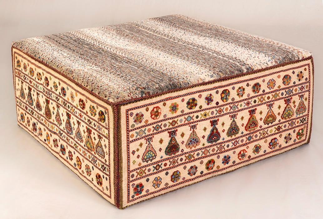 Afshar Rectangular Table 2 Web L100 × W100 × H40 Cm