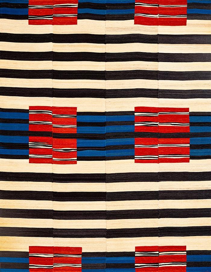 After Navajo Baneh Kelim web Flatweaves Minimalist 216 x 282cm