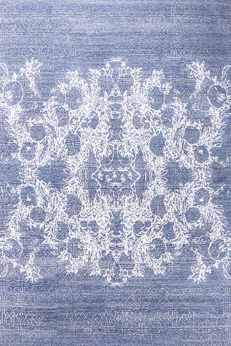 Anar Dar Toor 3 Web White Lilac Grey Isfahan Anar Collection 207 X 305Cm  Nov24 For Zollanvari