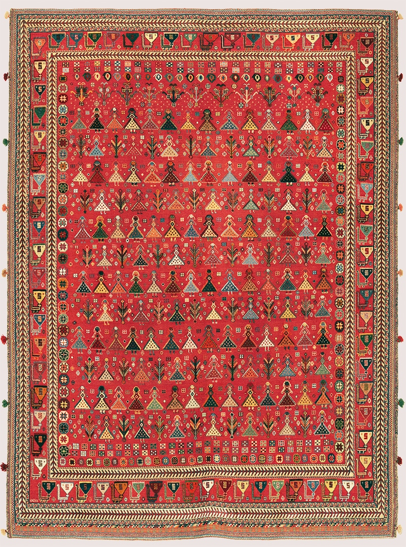 Baluch Soumak web Transitional Tribal 180 x 234cm