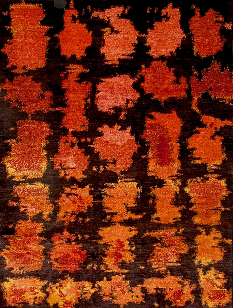 Cracked Lava 1 Web Volcanic Collection Gabbehs Landscapes 222 X 300Cm