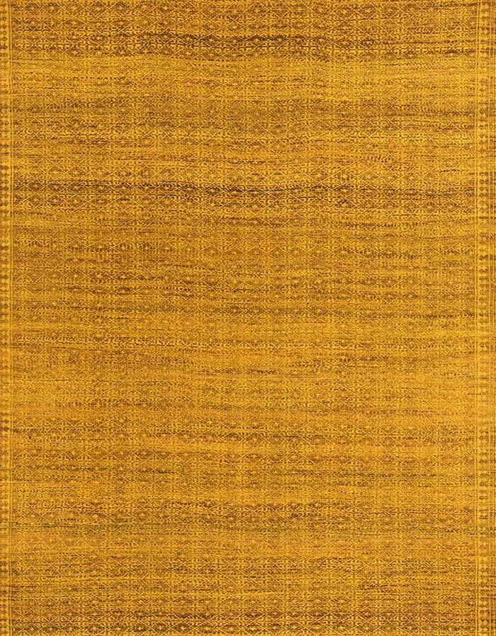 Diamond Zillu in Gold Green WEB Flatweaves Minimalist 199 x 235cm