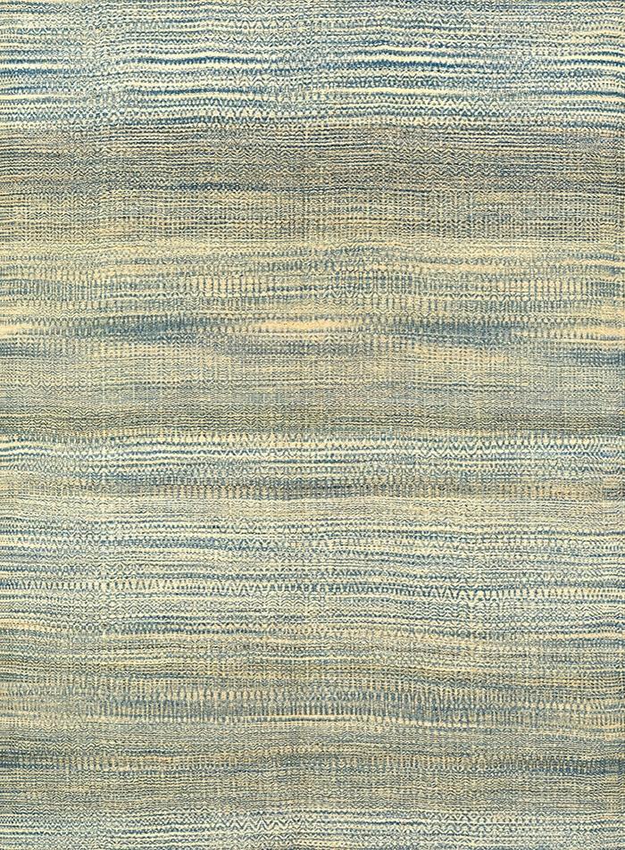 Etched Zillu in Blue Grey WEB Flatweaves Minimalist
