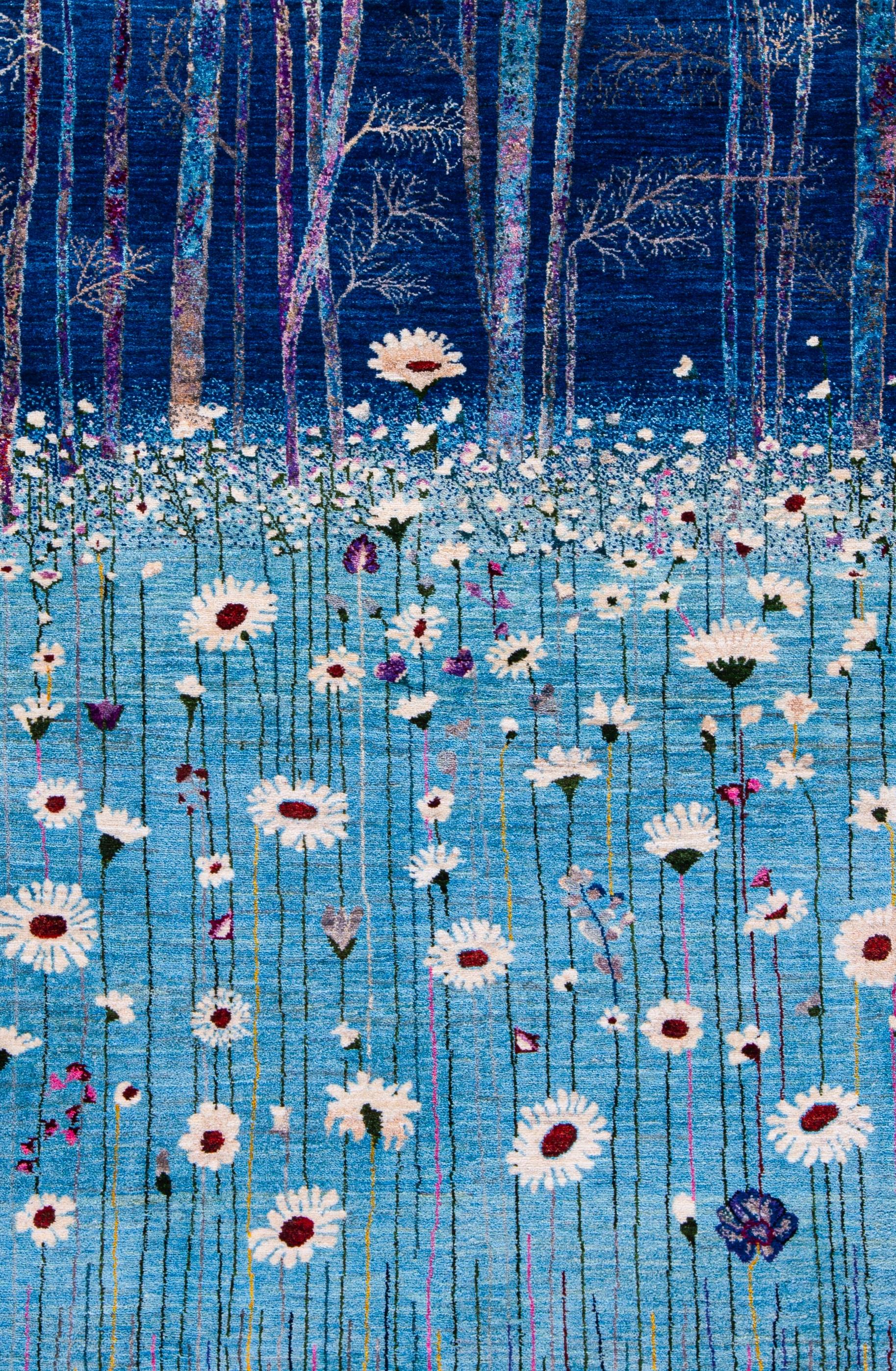 Flower Meadow 3 Zollanvari Studio Luribaft 107 x 160cm