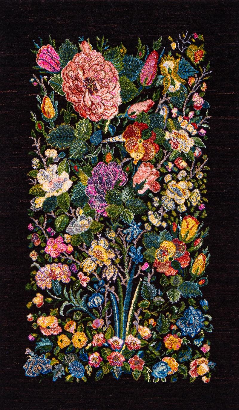 Garden Of Eden Miniature 1 Webm Gabbehs Flora Fauna 75 X 128Cm