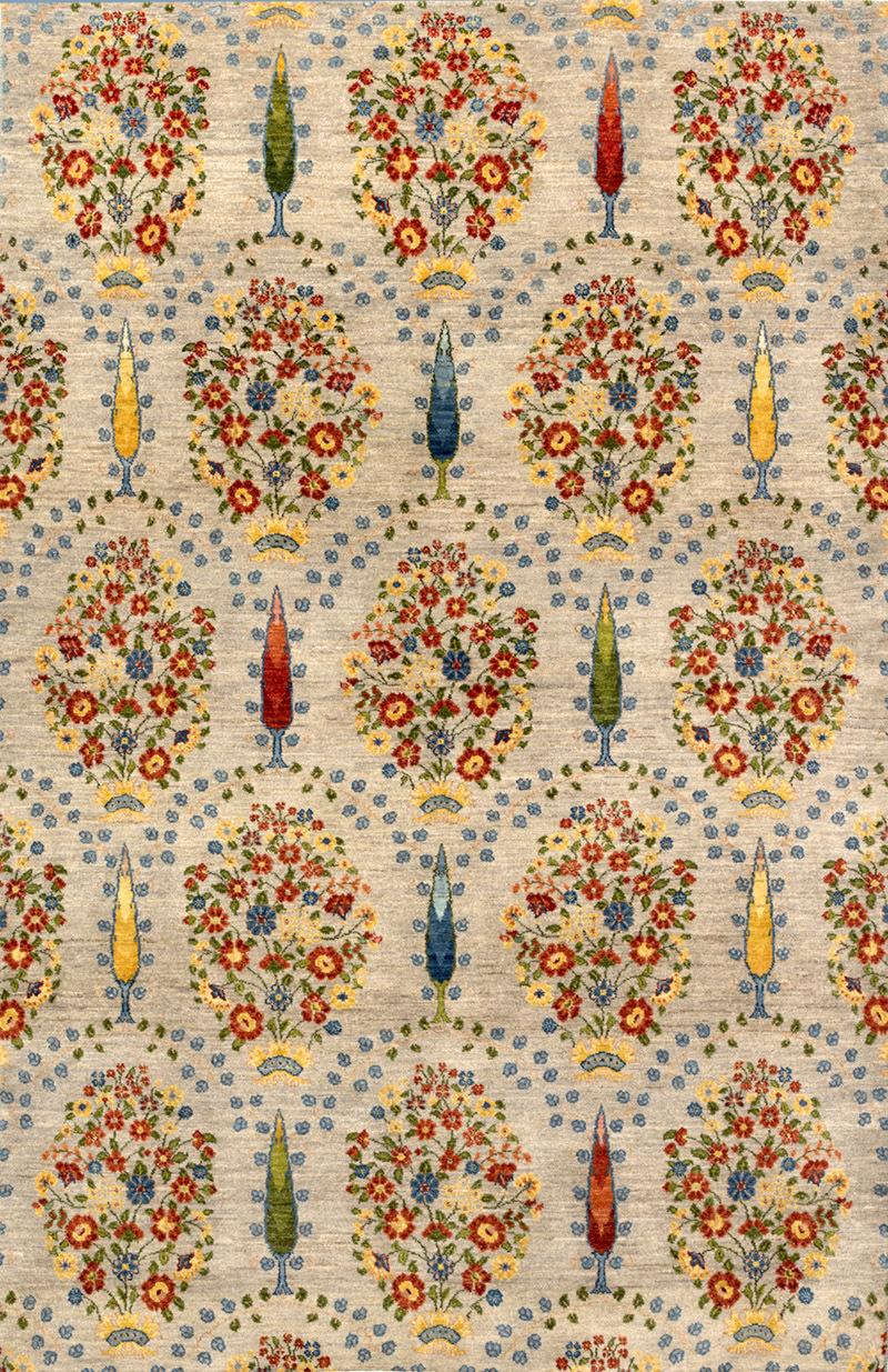 Garlands Cypresses 1Gabbehs Flora Fauna 166 X 256Cm