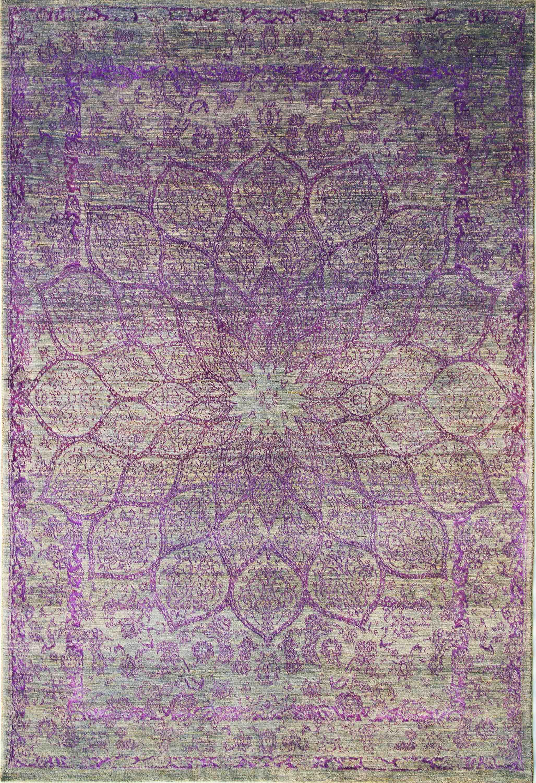 Gloss In Violet Web 200 X 300 Cm
