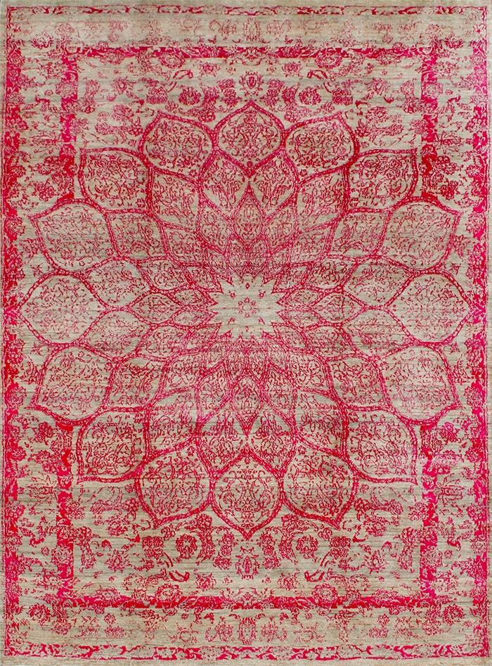 Gloss In Hues Of Pinkweb 220 X 310Cm