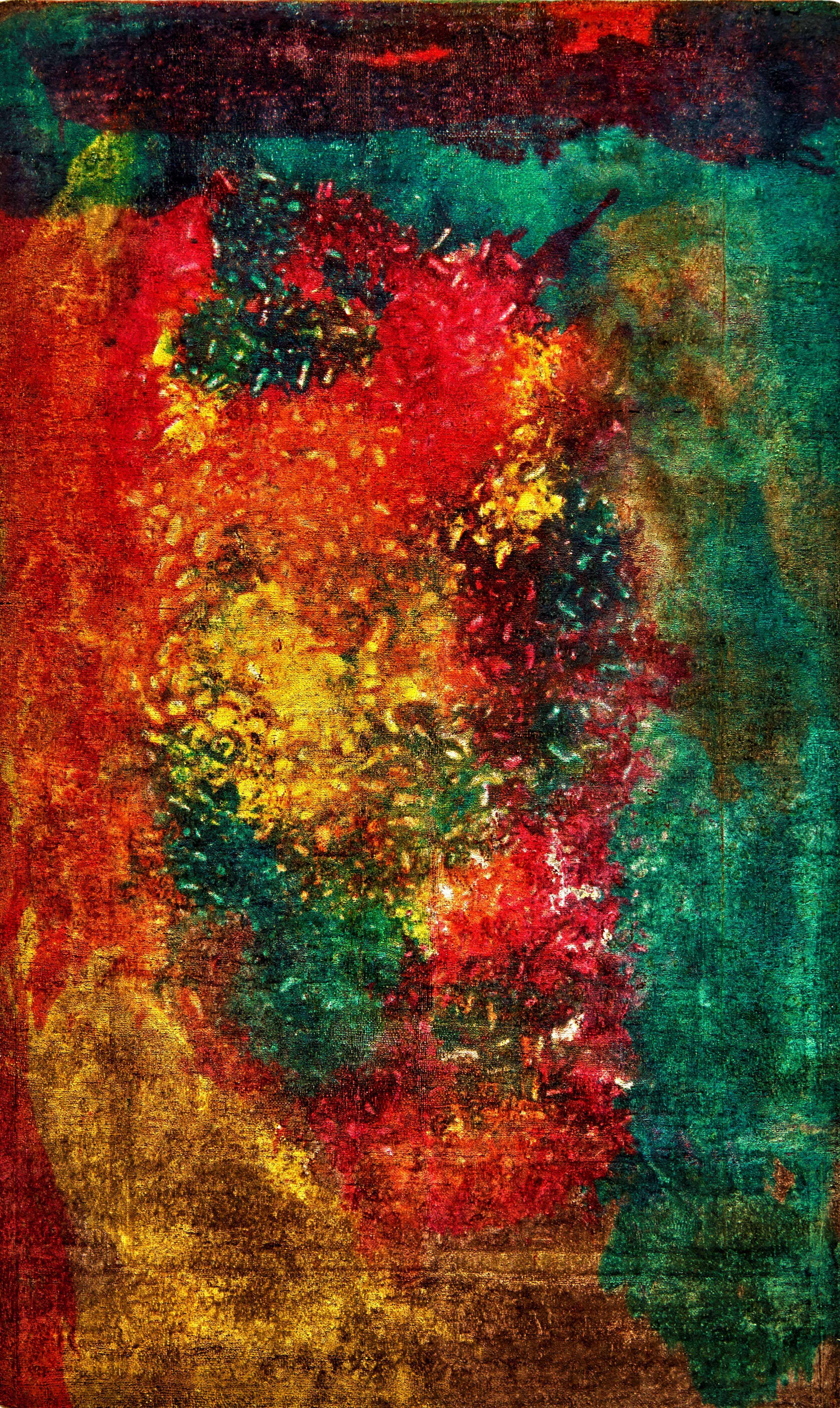 Glow Kundan Pure Silk 94 x 183cm
