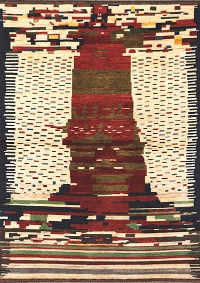 Graffiti 12B Mail Gabbehs Abstract Plain 164 X 229Cm