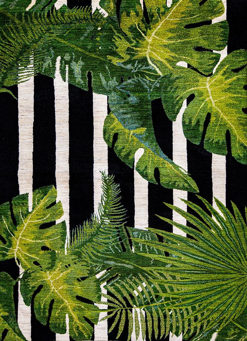 Jungle Beat 1 WEB Gabbehs Flora Fauna 172 x 240cm