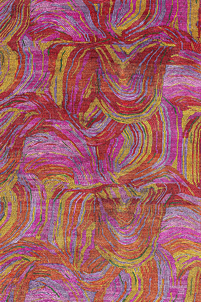Kaleidoscope 1 WEB Gabbehs Abstract Plain 169 x 254cm
