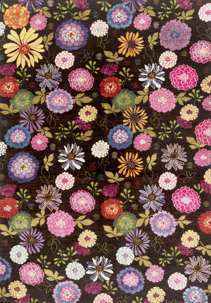 Kyoto Ikebana 2 Gabbehs Flora Fauna 165 X 339Cm