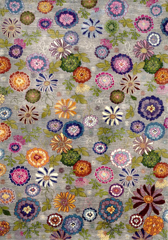 Kyoto Ikebana 2W Gabbehs Flora Fauna 164X236Cm