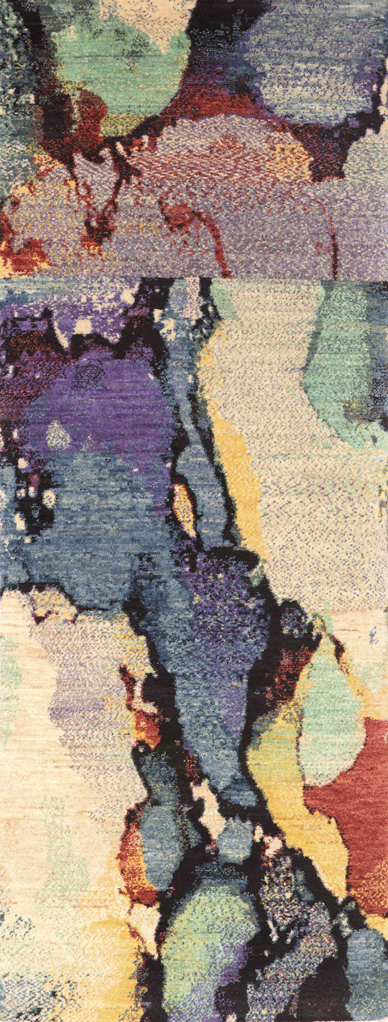 Marmo Pettinato Runner 2W Gabbehs Abstract Plain 83 X 135Cm