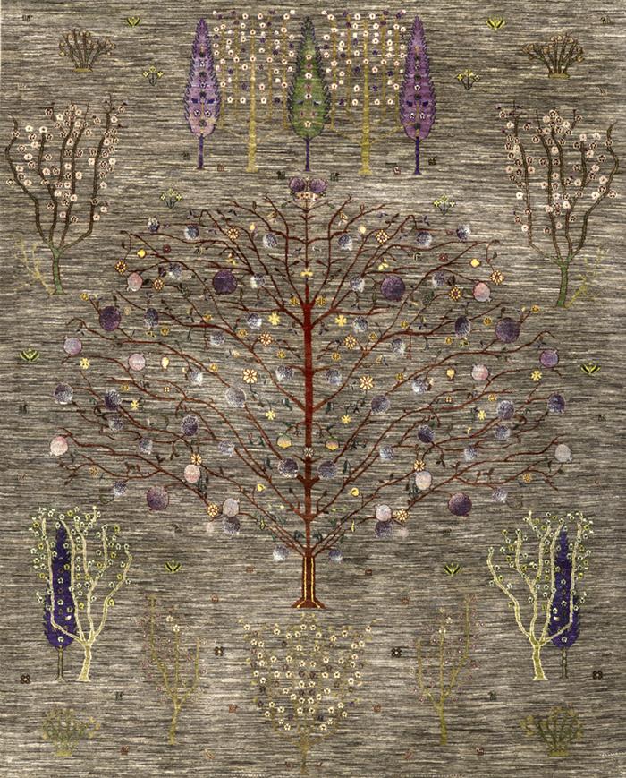 Multiple Trees 7 Gabbehs Flora Fauna 246 X 304Cm