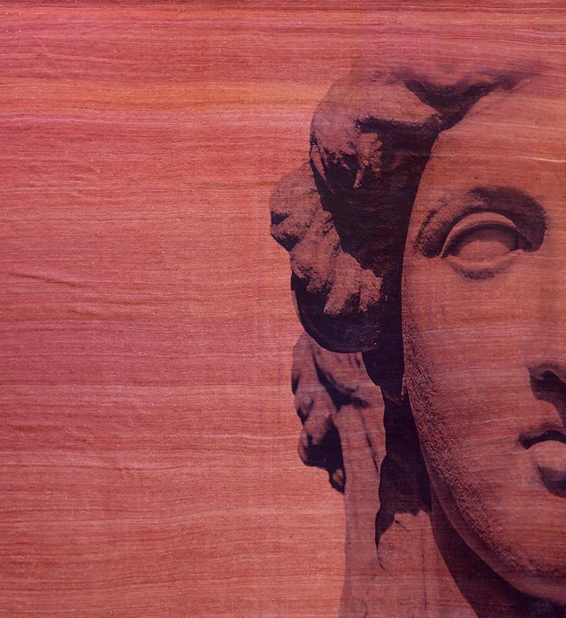 Roman Empire Visage 4 On Redweb 326 X 308Cm