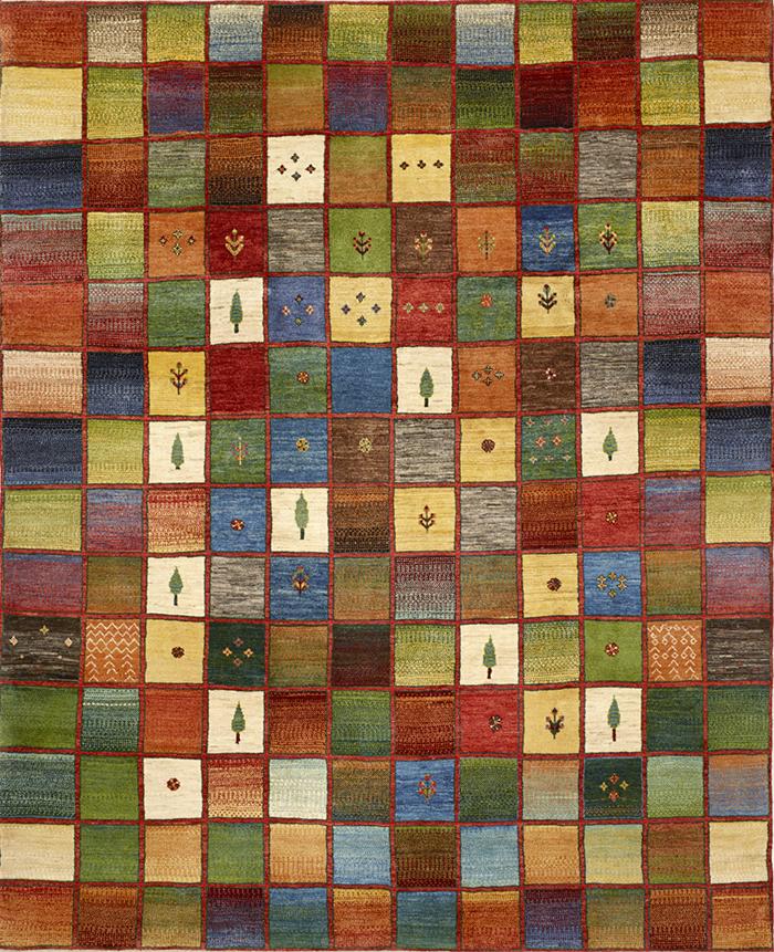 Squares Revisited 1 Gabbehs Geometric 249 X 308Cm