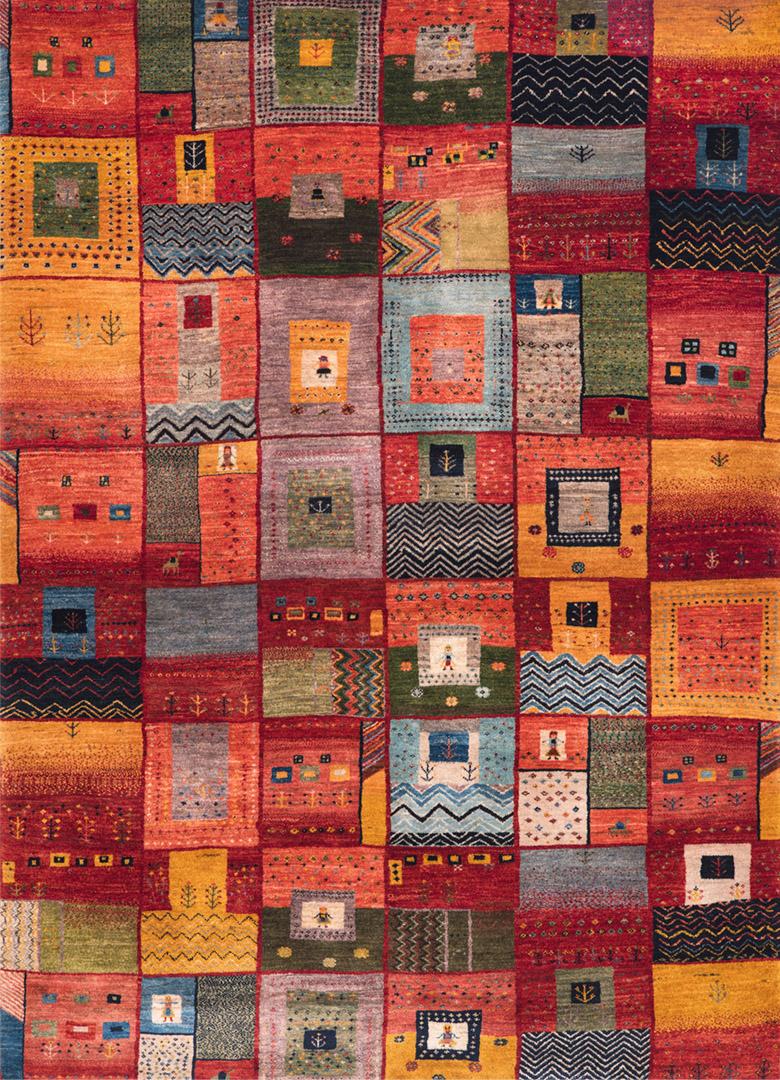 Squares Revisited 12 W  Gabbehs Geometric Collection  175X237Cm Kopie