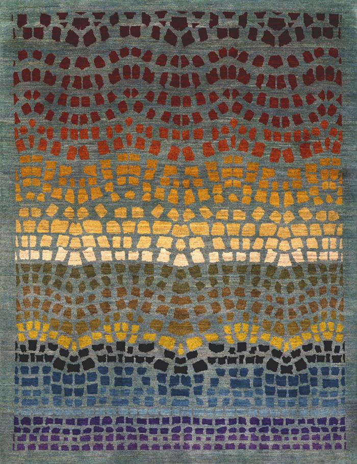 Undulating Mosaic 1 W