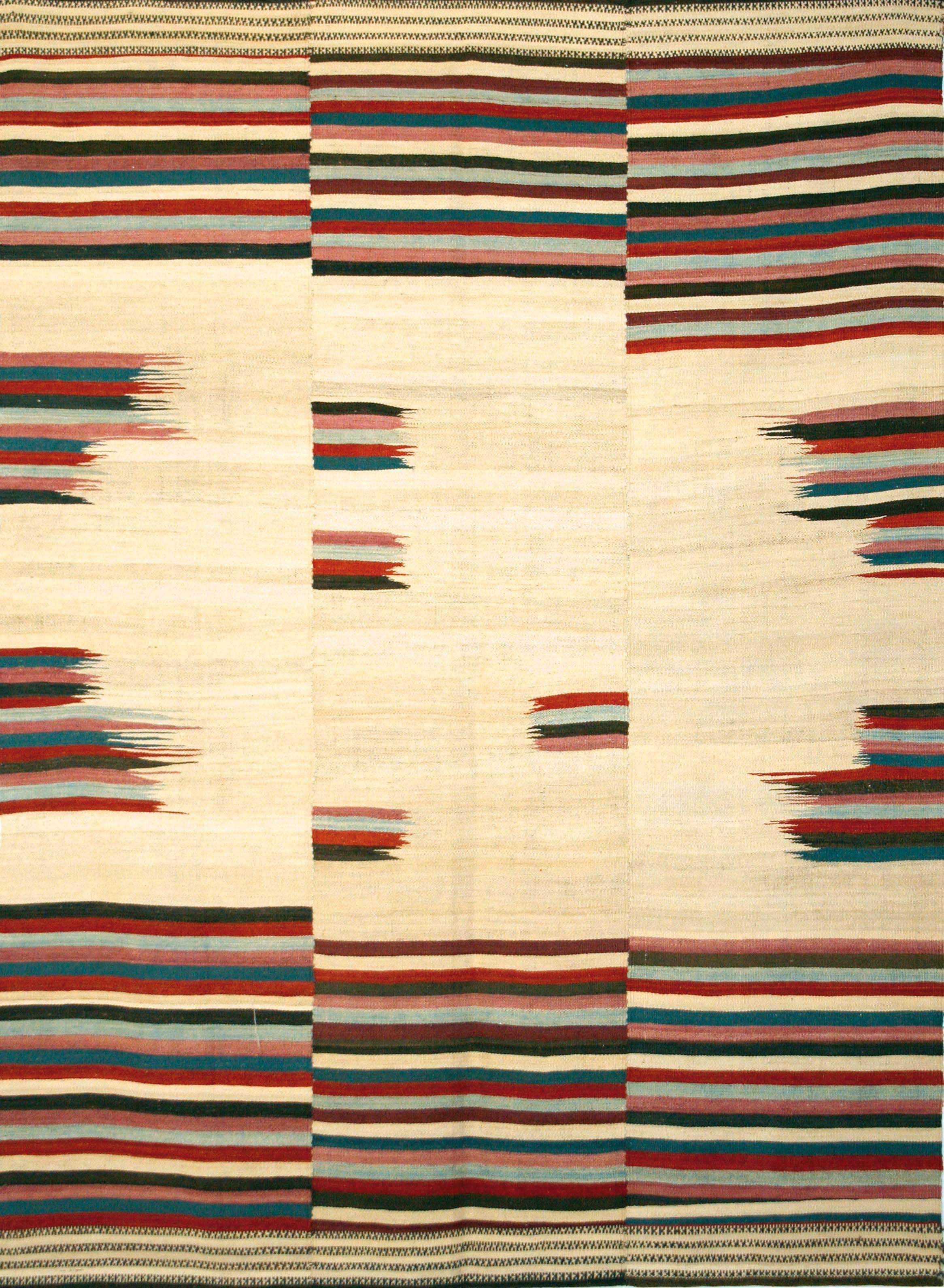 Vibrant Baneh Kelim 8 Wool 231 x 303cm