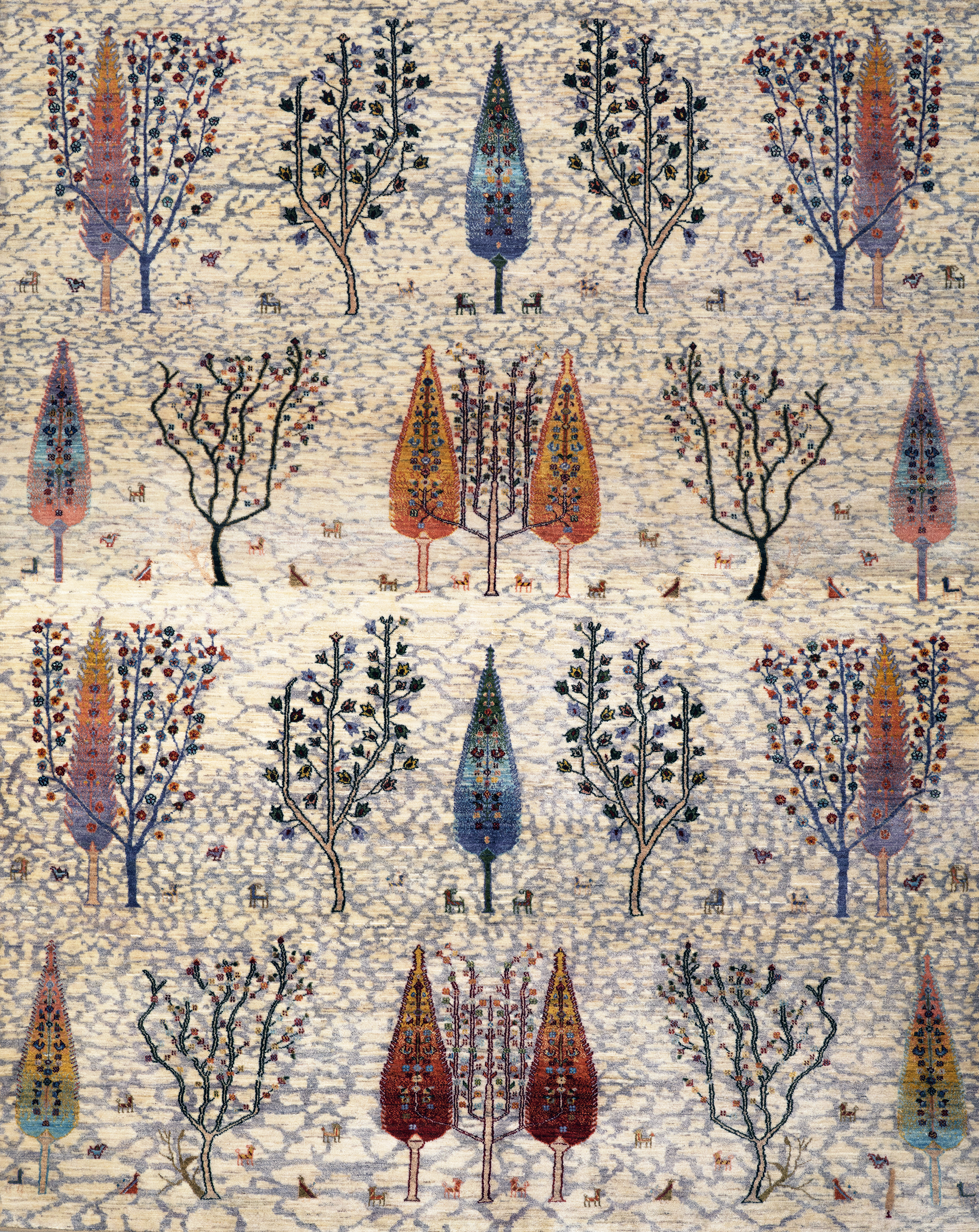 Woodland 3  Into The Woods  Transitional Formal  245X306Cm