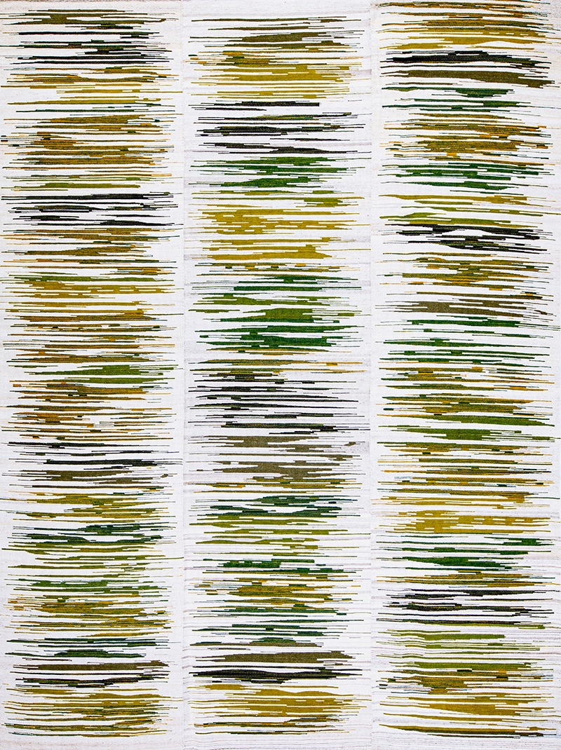 Zagros Songlines Baneh Kelim Flatweaves Minimalist 223 x 303cm